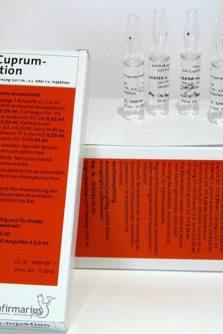 Infi-Cuprum-Injektion