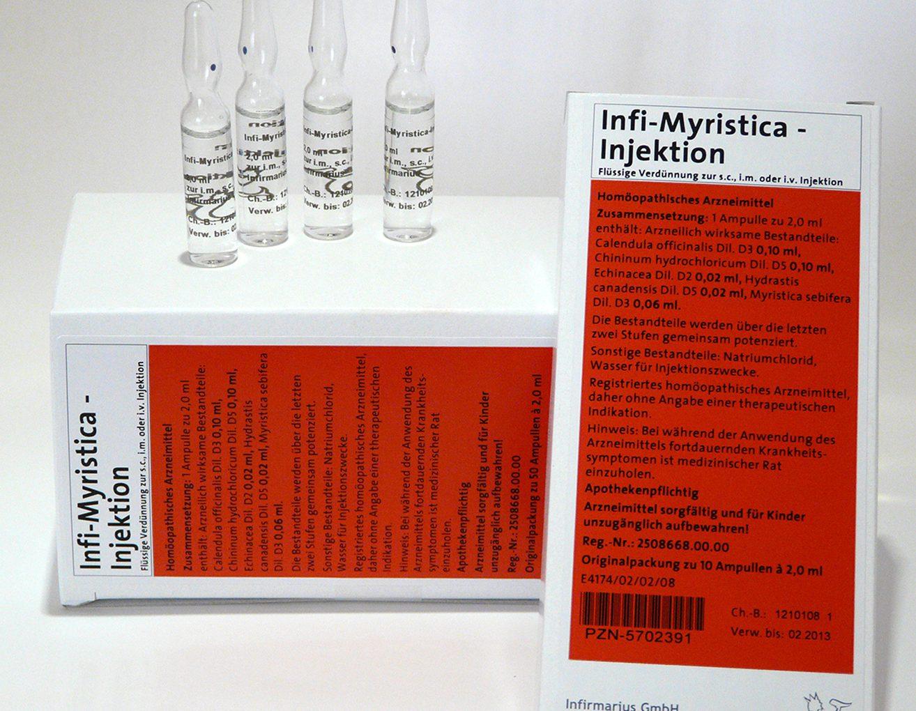 Infi-Myristica-Injektion